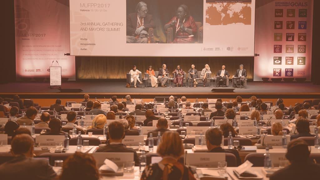Tercera Cumbre de alcaldes del Pacto de Milán