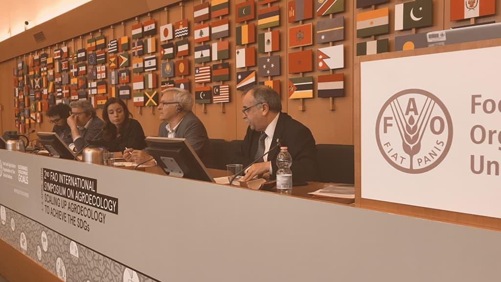 Segundo Simposio Internacional sobre Agroecología FAO, Roma, abril 2018